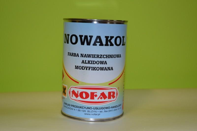 Farba alkidowa modyfikowana.  Farba posiada dopuszczenie w Kolejnictwie .
